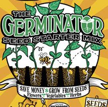 lady Bug Brand The Germinator™ Seed Starter Mix