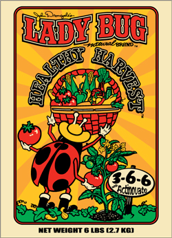 Lady Bug Brand Healthy Harvest™ 3-6-6 with Actinovate