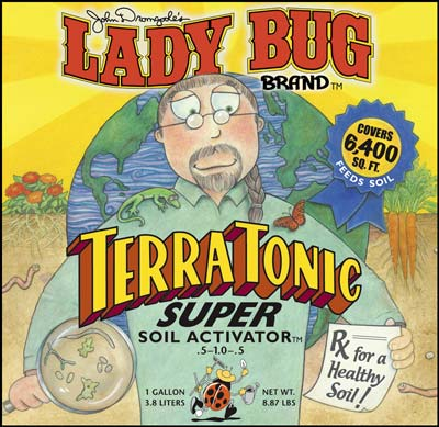 Lady Bug Brand  Terra Tonic Super Soil Activator